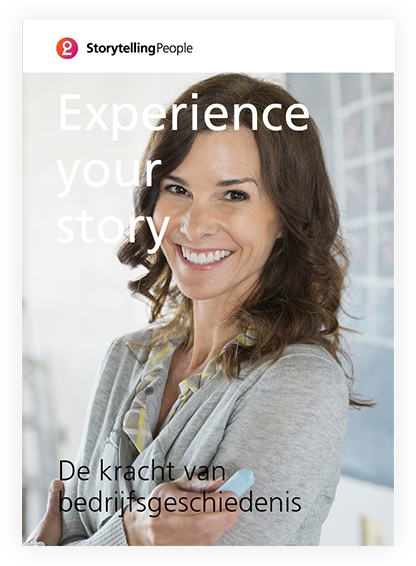 Corporate storytelling brochure